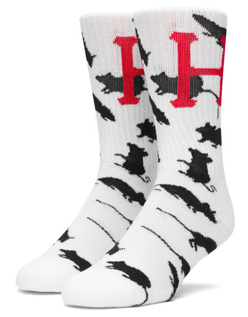 HUF YEAR OF THE RAT SOCK - WHITE
