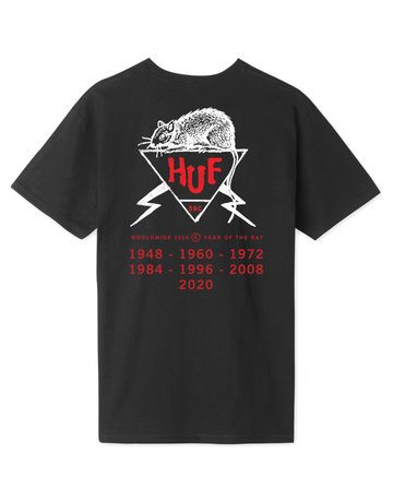 HUF YEAR OF THE RAT DBC S/S TEE - BLACK