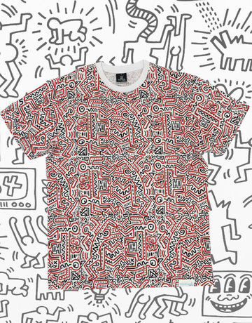 DIAMOND 83 KEITH HARING TEE