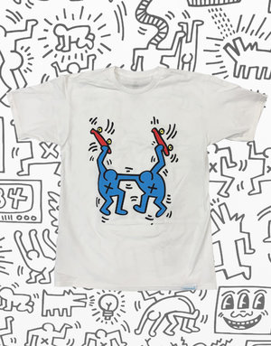 DIAMOND KEITH HARING STAND TOGTHER TEE