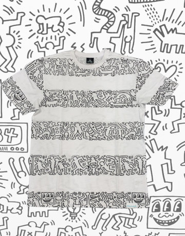 DIAMOND KEITH HARING STRIPES TEE