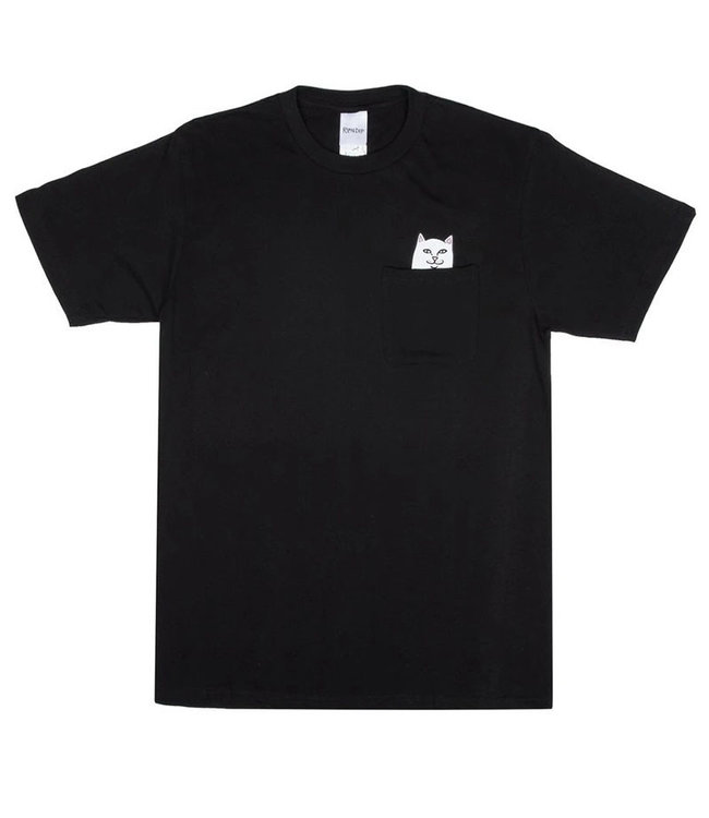 RIPNDIP LORD NERMAL POCKET TEE - BLACK