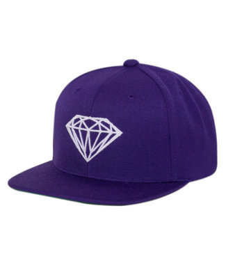 DIAMOND CAM'RON BRILLIANT UNSTRUCTURED SNAPBACK - PURPLE
