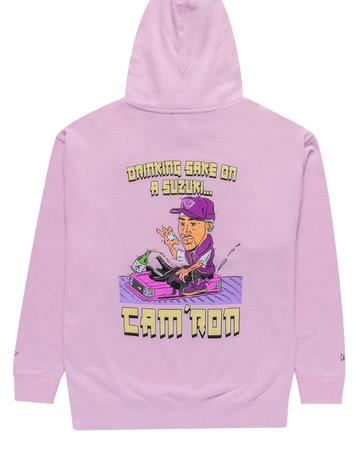 DIAMOND CAM'RON SAKE HOODIE - PINK