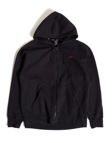NIKE SB M NK SB HOODIE ISO - BLACK/UNIVERSITY RED