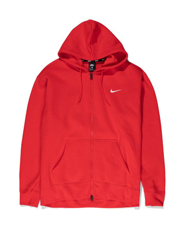 NIKE SB M NK SB HOODIE ISO - UNIVERSITY RED/SAIL