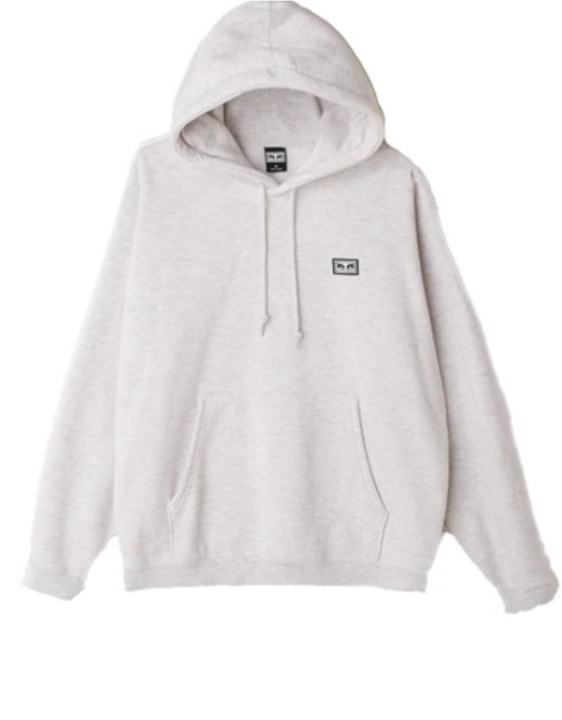 OBEY ALL EYEZ II HOOD - ASH GREY