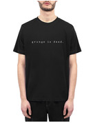 WASTED PARIS GRUNGE IS DEAD T-SHIRT - BLACK
