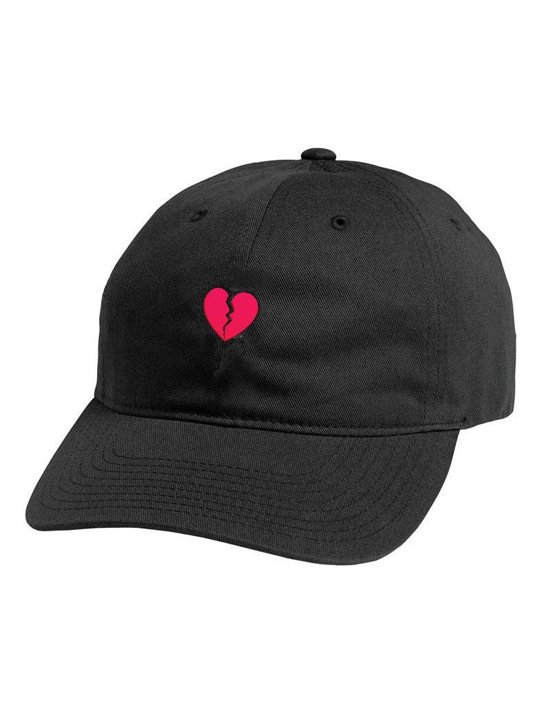 PRIMITIVE AMOR DAD HAT - BLACK