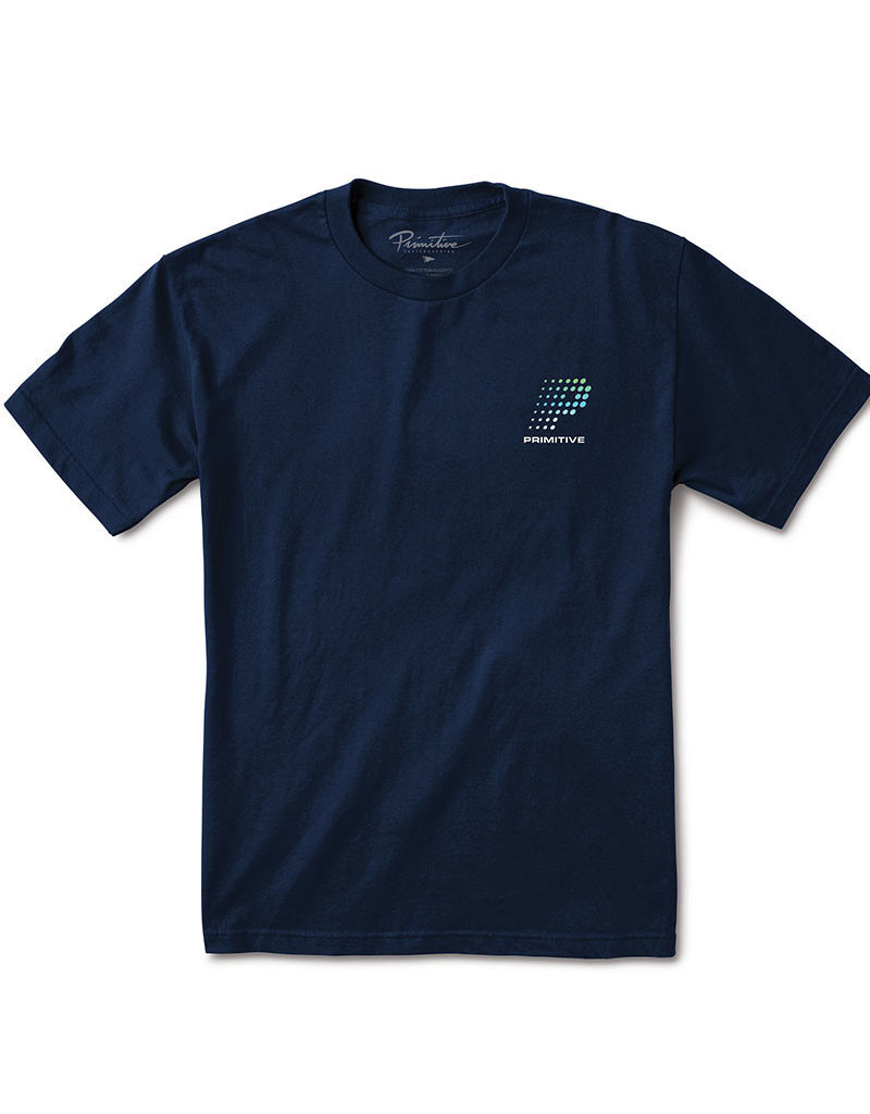 PRIMITIVE CONNECTION TEE - NAVY