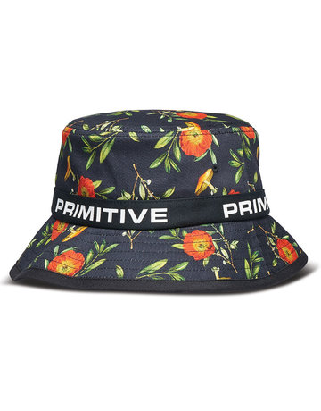 PRIMITIVE HORTICULTURE BUCKET HAT - BLACK