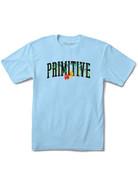 PRIMITIVE PALMS TEE - POWDER BLUE