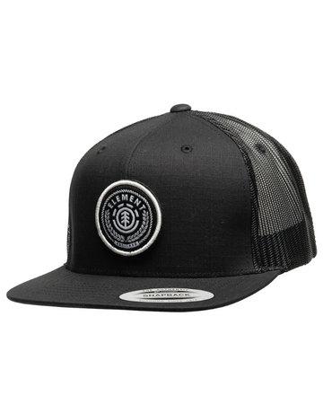 ELEMENT RECRUIT CAP - ALL BLACK