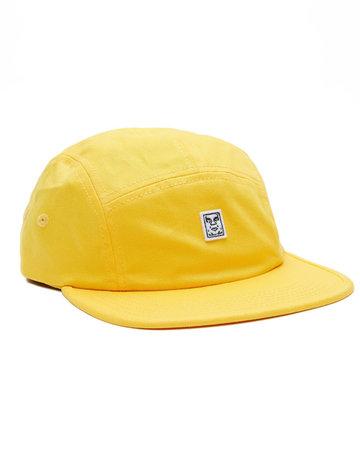 OBEY 89 ICON 5 PANEL HAT - ENERGY YELLOW