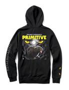 PRIMITIVE NINE LIVES HOOD - BLACK