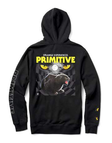PRIMITIVE NINE LIVES HOOD - BLACK