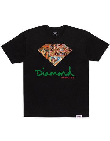 DIAMOND ETHIOPIAN DIAMOND S/S TEE - BLACK