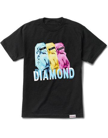 DIAMOND FOR EVERYONE S/S TEE - BLACK