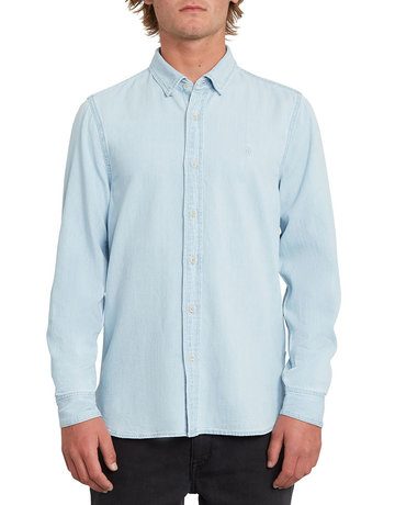 VOLCOM BAYOND L/S - LIGHT BLUE