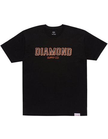 DIAMOND SF DIAMOND SS TEE - BLACK