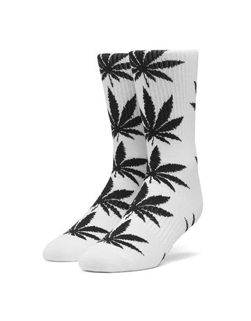HUF PLANTLIFE SOCKS - WHITE