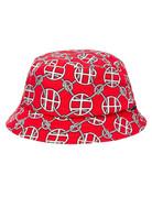 HUF ATELIER BUCKET HAT - RED