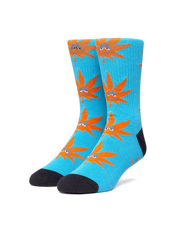 HUF GREEN BUDDY 3PL SOCK - GREEK BLU