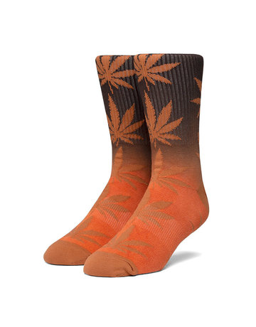 HUF PLANTLIFE GRADIENT DYE SOCK - RUST