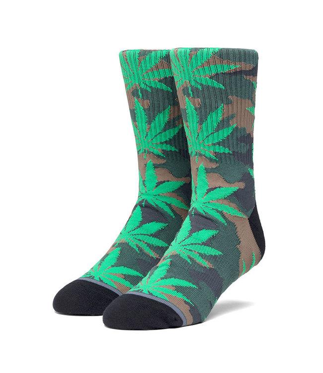 HUF Plantlife Pop Camo Sock - Black