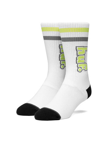 HUF 1993 STRIPE SOCK - WHITE