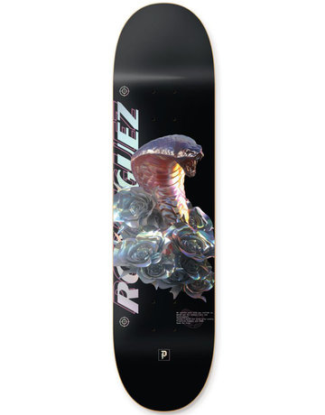 PRIMITIVE RODRIGUEZ WARNING DECK MULTI - 8.125