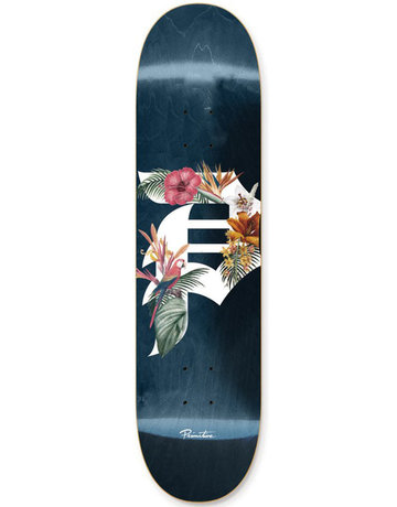 PRIMITIVE TEAM DIRTY P TROPICS DECK BLUE - 8.0