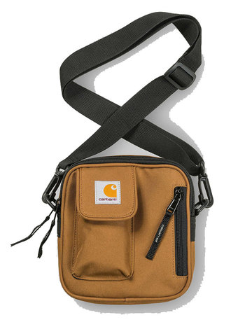 CARHARTT ESSENTIALS BAG SMALL - HAMILTON BROWN