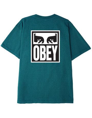 OBEY OBEY EYES ICON 2 TEE - EUCALYPTUS