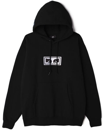 OBEY OBEY EYES HOOD - BLACK