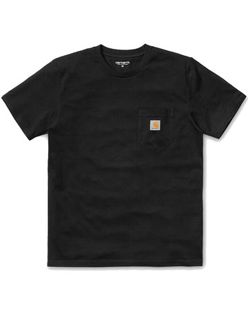 CARHARTT S/S POCKET T-SHIRT - BLACK