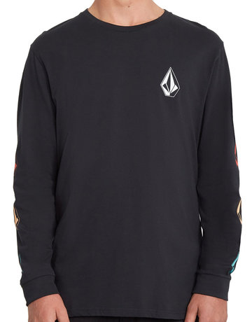 VOLCOM DEADLY STONE BSC LS - BLACK