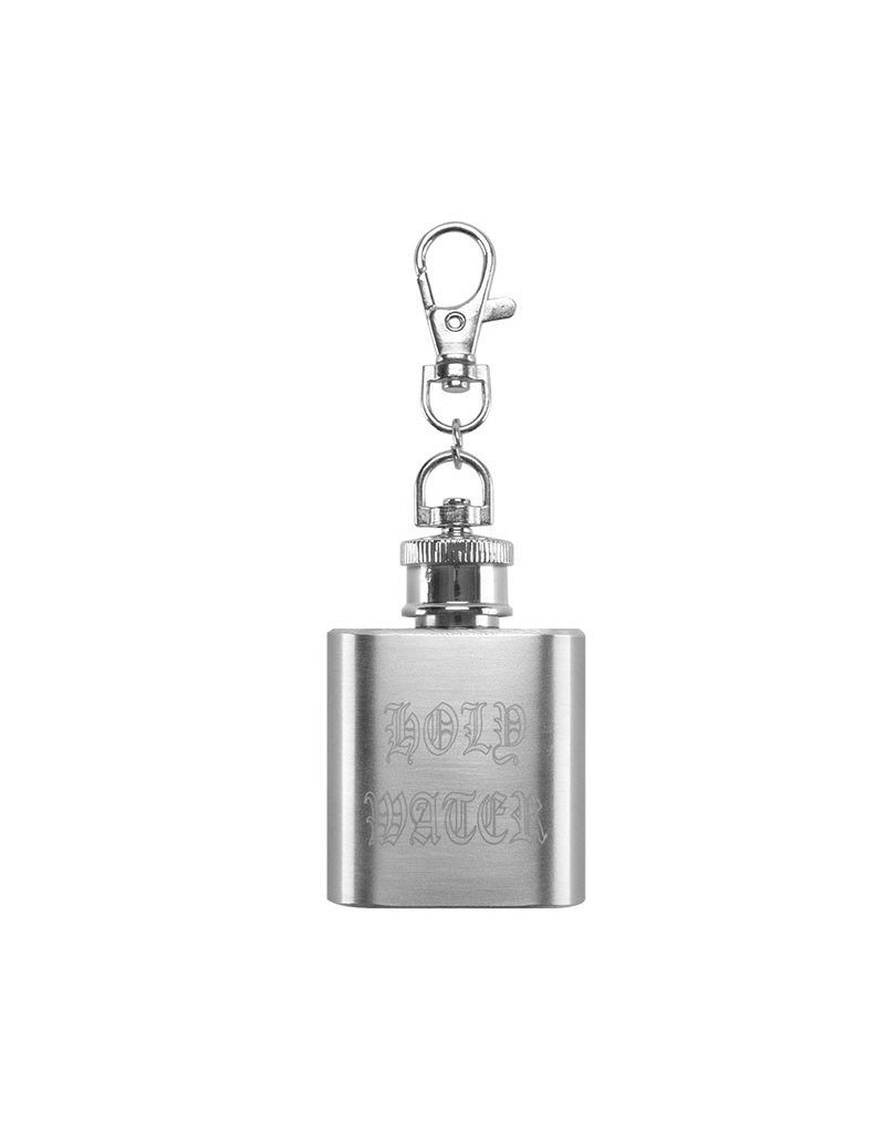 HUF HOLY WATER KEYCHAIN - SILVER
