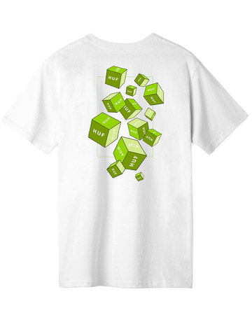 HUF HUF 3D BOX S/S TEE - WHITE