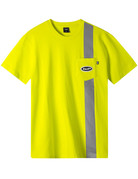 HUF SAFETY S/S POCKET TEE - SAFETY YELLOW