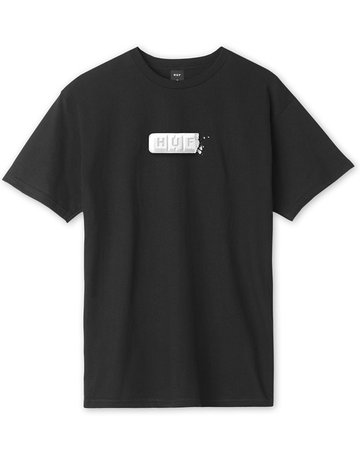 HUF YOUTH OF TODAY S/S TEE - BLACK