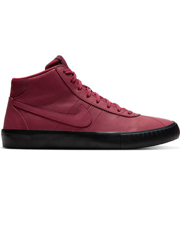 NIKE SB BRUIN HI ISO LACEY BAKER - TEAM RED/NIGHT MAROON-BLACK