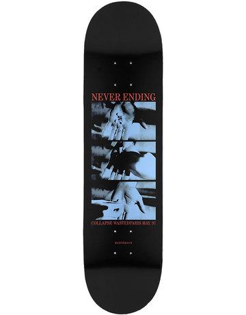 WASTED PARIS NEVER ENDING DECK BLACK - 8.25