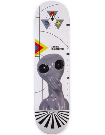 ALIEN WORKSHOP SAMMY MONTANO PRO DECK - 8.25