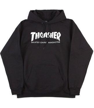 THRASHER Skate Mag Hood - Black