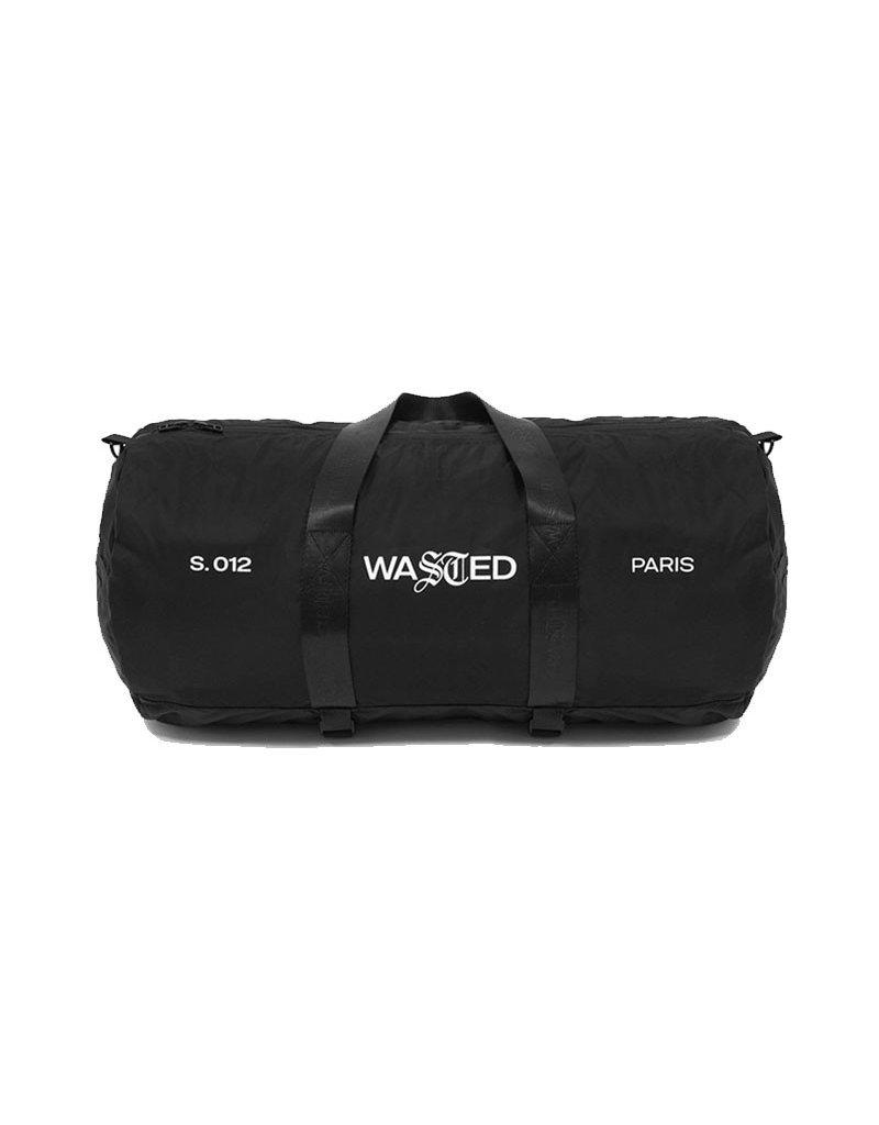 WASTED PARIS RIPSTOP WEEK-END BAG - BLACK