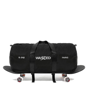 WASTED PARIS RIPSTOP WEEK-END BAG - BLACK