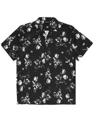 WASTED PARIS CHARMING ALLOVER SHIRT - BLACK