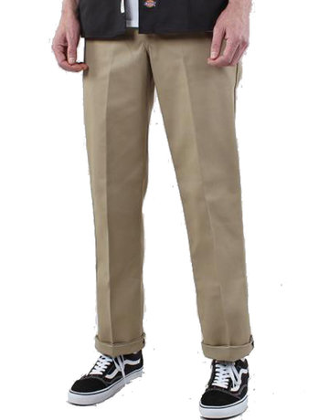DICKIES 874 ORIGINAL FIT STRAIGHT LEG WORK PANT - KHAKI