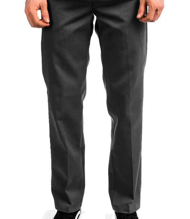 DICKIES S/STGHT WORK PANT - CHARCOAL GREY